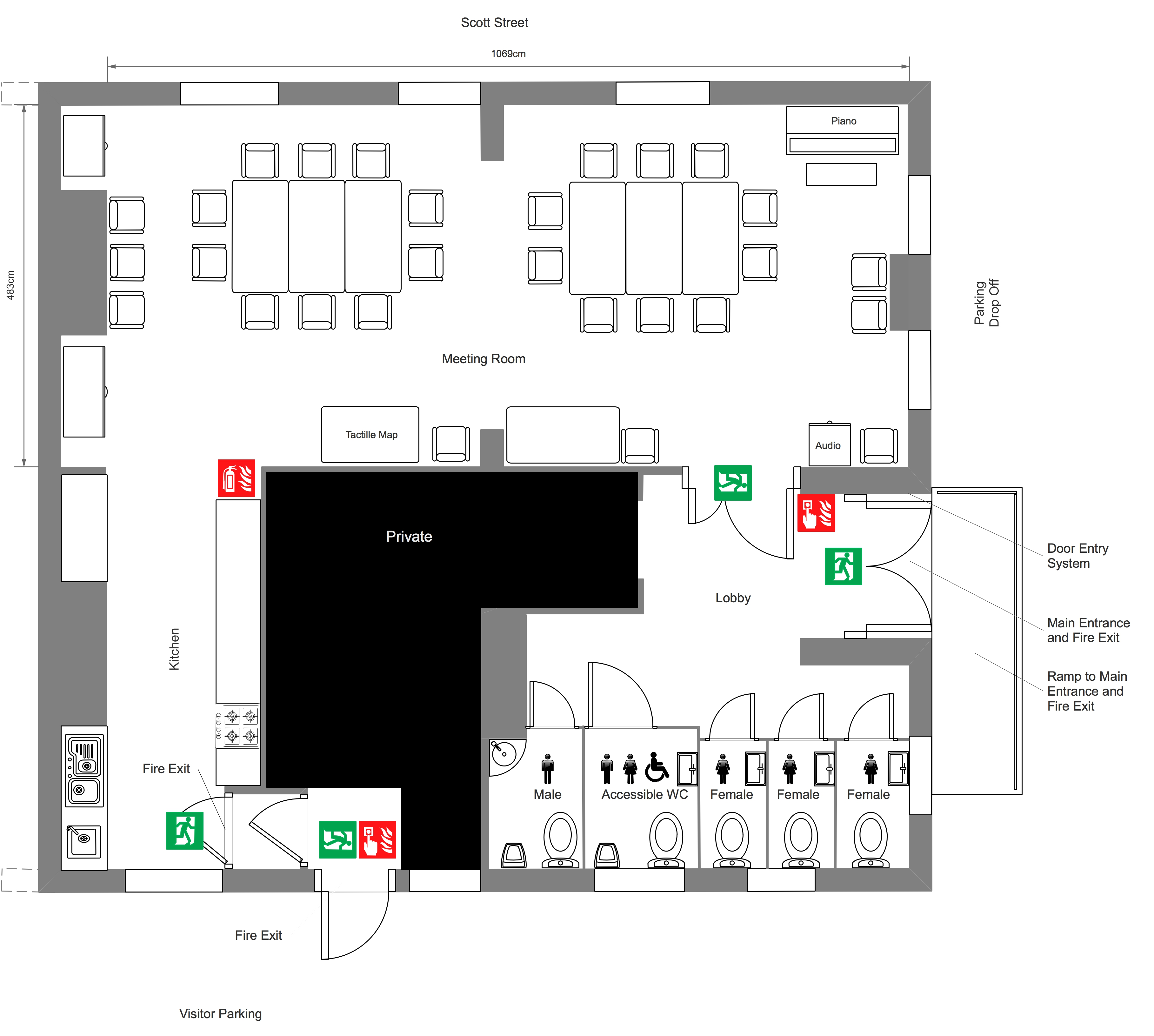 Meeting Room Floorplan